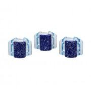 Linziclip Mini Hair Clip Gumičky do vlasov pro ženy Skřipec do vlasů Odtieň - Blue Glitter