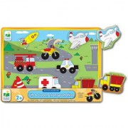 The Learning Journey My First Lift & Learn Transportation Puzzle Multi