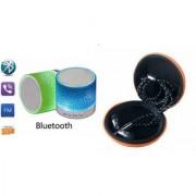 ZEMINI Music Mini Bluetooth Speaker(S10 Speaker) And Headset (JBL_ Headset) for SAMSUNG GALAXY E 7