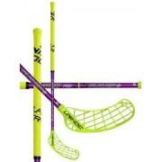 Unihoc Florbalová hůl Unihoc PLAYER 29 neon yellow/purple `15 neonově žlutá / fialová Levá ruka níže 96cm (=106cm)