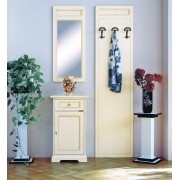 Kleiner Schrank mit Spiegel und Paneel