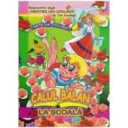 Calul Balan. La scoala - Carte de colorat