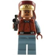 Lego Star Wars: Captain Panaka Minifigure With Blaster