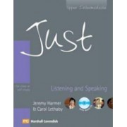 Just Listening and Speaking - Upper Intermediate - With Audio CD - For Class or Self Study by Jeremy Harmer