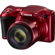Canon Powershot Sx420 Is Digital Camera/20 Mp/42X Optical Zoom /Red Color With 8Gb Memory Card And Camera Case