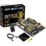 Asus Z87 Deluxe/Quad all-in-one LGA 1150 ATX Motherboard
