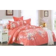 Lenjerie de pat pentru 2 persoane cu 4 piese Casa M-445