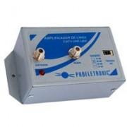 Amplificador de Linha VHF/UHF 20 DB - Proeletronic