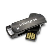 Memorie flash Integral Secure 360 8GB, criptare software AES pe 256 de biti