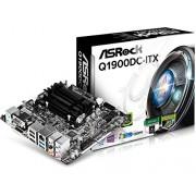 Intel Q1900DC-ITX Scheda Madre, Nero