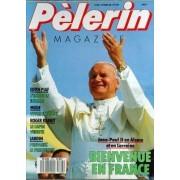 Pelerin Magazine N° 5523 Du 07/10/1988 - Jean Paul Ii En Alsace Et En Lorraine - Edith Piaf - L'emotion Intacte - Vivre En Jeans - Rober Rabbit - Le Lapin Vedette - Jardin - Le Printemps
