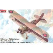 Roden Gloster Gladiator Mk.I/ Mk.II/J8 Airplane Model Kit by Roden