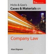 Hicks & Goo's Cases and Materials on Company Law by Alan Dignam