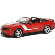 2010 Ford ROUSH 427R Mustang Convertibe MAISTO Diecast 1:18 Red