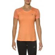 asics fuzeX Koszulka do biegania Kobiety pomarańczowy Koszulki do biegania krótki rękaw