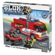 Mega Bloks Blok Squad Buildable Fire Patrol Rescue Playset [Toy]