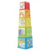 Jucarie Bebelusi Fisher-Price Stackin Nest Blocks - Mattel CDC52