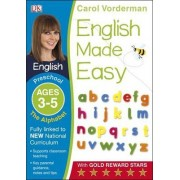 English Made Easy The Alphabet Preschool Ages 3-5: Preschool ages 3-5 by Carol Vorderman