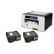 Ricoh SG 3110DN Цветен офис принтер в комплект с 2 х 4 бр. стандартни стартови касети / 1 /