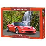 Castor 102556 - Chevrolet Corvette - Puzzle 1000 pezzi
