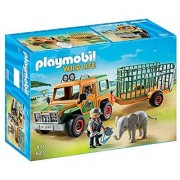 PLAYMOBIL Ranger's Truck with Elephant