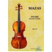 Studii pentru vioara - Mazas