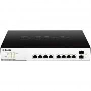 Switch D-Link DGS-1100-10MP 8 porturi