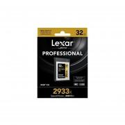 Lexar Professional 2933x 32GB XQD 2.0 Card (Up To 440MB/s Read) W/ USB 3.0 Reader - LXQD32GCRBNA2933BN