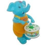 Funny Elephant Drummer
