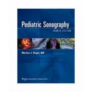 Pediatric Sonography by Marilyn J. Siegel