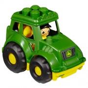 First Builders - John Deere Tractor, juego de construcción (Mega Brands 80820)