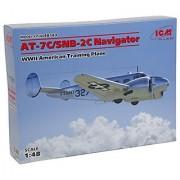 ICM Models 1/48 AT-7C/SNB-2C Navigator Model Kit