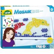Lena 35606 - Set per mosaico, per bambini, 260 pz., 10 mm