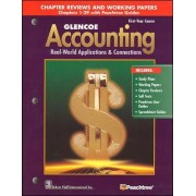 Glencoe Accounting: Chapters 1-29, Working Papers by Donald J. Guerrieri