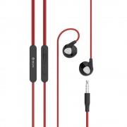 Devia Ripple D2 - слушалки с микрофон и управление на звука за мобилни устройства (червен)