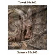 PROSOP 100X160CM TOWEL IBEX