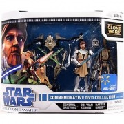 Star Wars Clone Wars Commemorative DVD Collection 1 (Obi-Wan Kenobi General Grievous and Battle Droid)