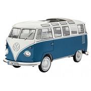 Revell 07009 - Modellino di Samba Bus VW T1, scala 1:16