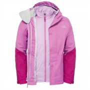 The North Face Kira Tri Jacket Kinder Gr. 152 - pink-rosa / wisteria purple - Doppeljacken