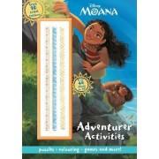 Disney Moana Adventurer Activities with 10 Tribal Tattoos by Parragon Books Ltd