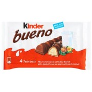 Kinder Bueno Classic Bar Mulitpack 4 x 172 g (Pack of 11)