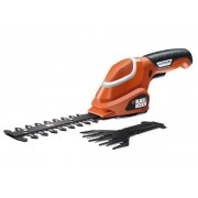 Black & Decker Kit Cisaille à gazon + sculpte-haies GSL700