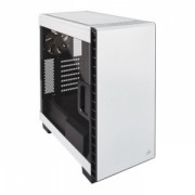 Corsair White 400C Carbide Clear Windowed PC Gaming Case, ATX Micro ATX Mini ITX