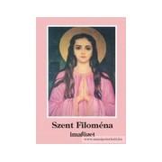 Szent Filoména imafüzet