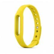 Correa original pulsera de goma Watch Band para el Xiaomi Mi Banda-Amarillo