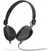 Casti Stereo SkullCandy Navigator, Jack 3.5mm, Microfon (Negre)