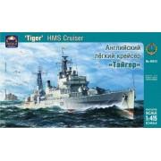"""Modellino Nave da guerra HMS cruiser """"Tiger"""" Russian Navy Battleship Scala 1: 415"""
