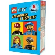 Lego City: Adventures in Lego City (Reader Boxed Set) by Scholastic