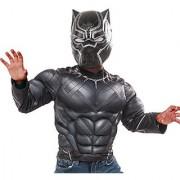 Marvel Captain America: Civil War Black Panthers Muscle Chest Shirt