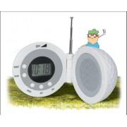 Minge de golf cu Ceas si Radio